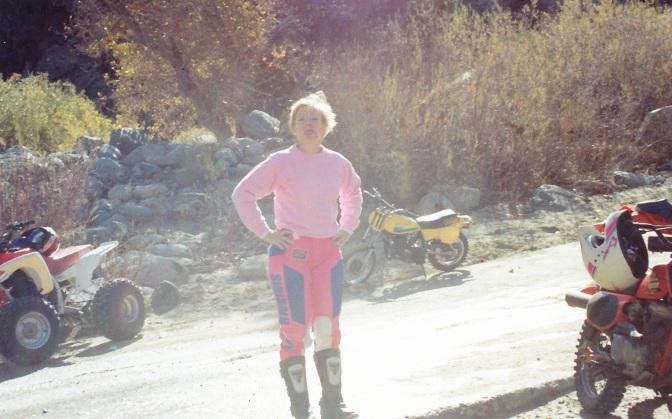MC riding
