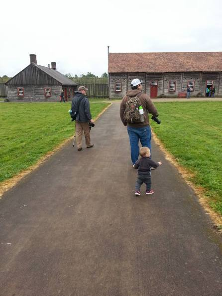 Fort Vancouver 3 generations