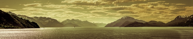 Glacier Bay ship Pano