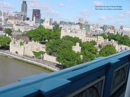 Tower of London from Tower Bridge