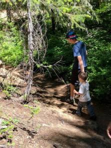 Trail to Natural Bridges
