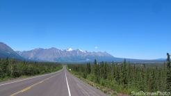 Haines Highway in Yukon from Google