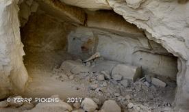 Talc Mine interior