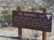 Bonanza Trail plaque