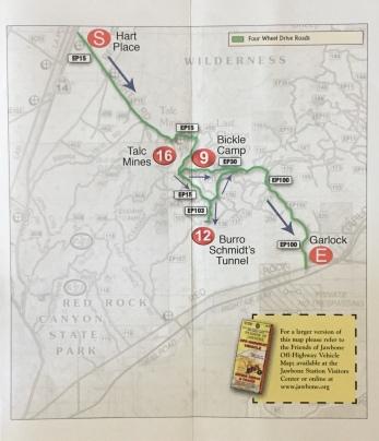 Bonanza Trail Map