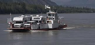 Yukon River Ferry from Google