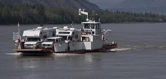 Yukon River Ferry from Google