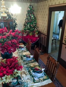 Interior DIning Room at Hughes Ranch House