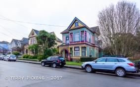 Painted Ladies, beautiful Victorian Homes in Eureka, CA