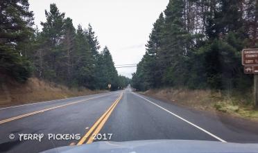 Highway 101 in Oregon