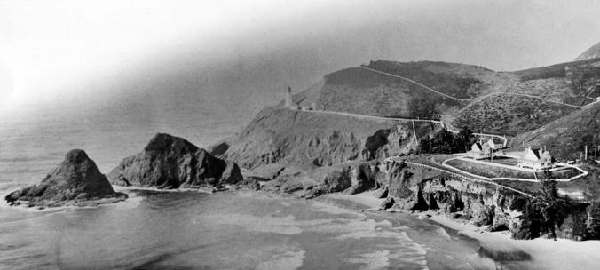 Early years Heceta Head Lighthouse