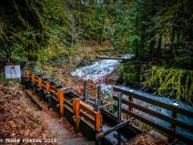 Flume and Cedar Creek