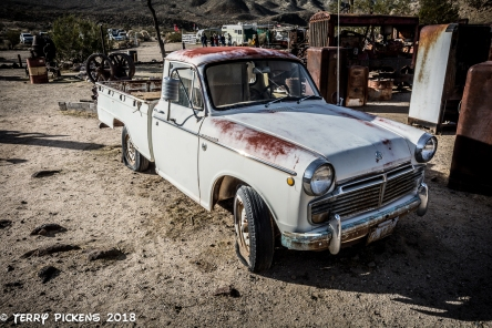 Bickel Camp Equipment, nice old Datsun 1600