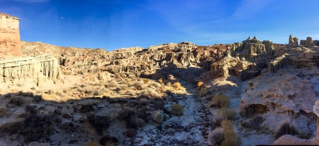 Nightmare Gulch Pano