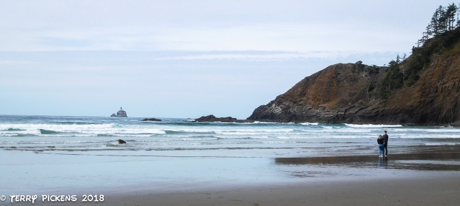 Peaceful Indian Beach, Ecola State Park