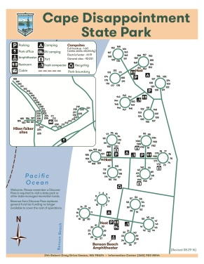 """Cape Disappointment Camp Map 08-29-16"