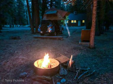 Evening at the campsite