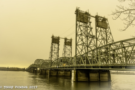 Interstate 5 bridge over the Columbia River.