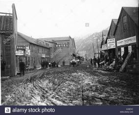 The town of Dyea 1898